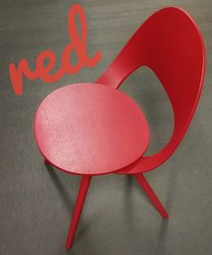 Color of the Week: red by @detaljee #furniture #innointerior