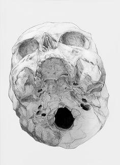 Bones by Chamo San on Curiator, the world's biggest collaborative art collection. Sad Girl Art, Skull Reference, Art Inspiration Drawing, Anatomy Study, Digital Museum, Art Drawings, Drawing Art, Bones, Art Photography
