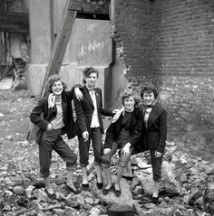 The Last of the Teddy Girls, The Style Subculture That Time Forgot. We trace the history of the 50s girl gangs that rebelled against austerity, trading in their ration books for Edwardian frills.