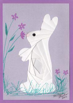 Iris folded Bunny