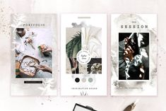 Animated Stories for Instagram by Kristina&Co on @creativemarket