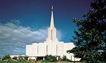 Jordan River Temple, where I received my endowment. This is also the first temple I toured in an open house when I was twelve.