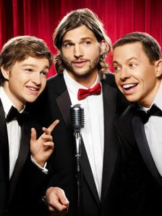 Two and a half men recently became a very talked about show when Charlie Sheen was replaced with Ashton Kutcher after acting in the show for years and making the show as popular as it was at that time. Two And Half Men, Half Man, Charlie Sheen, Charlie Charlie, Hemlock Grove, Best Tv Shows, Favorite Tv Shows, Movies Showing, Movies And Tv Shows