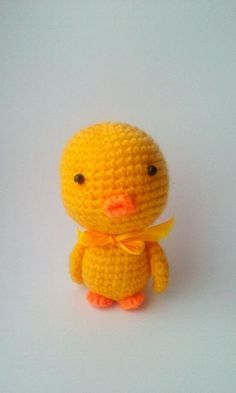 (4) Name: 'Crocheting : Duck Toy Crochet PATTERN