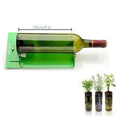 nice AGPtek Botella de vino cortador de vidrio herramienta de corte que alcanzaron el vino Máquina de corte de la botella por DIY reutilización recicla Oso Tarros Botella de vino Creación de Vidrieras, vasos, botellas Jardineras, Lámparas Botella, Porta velas