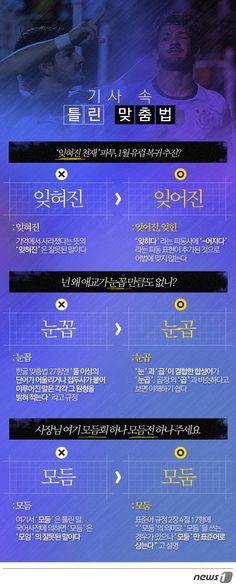 [그래픽뉴스]기사 속 틀린 맞춤법 http://www.news1.kr/photos/details/?1633410 Designer, Jinmo Choi.   #inforgraphic #inforgraphics #design #graphic #graphics #인포그래픽 #뉴스1 #뉴스원 [© 뉴스1코리아(news1.kr), 무단 전재 및 재배포 금지]