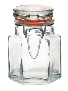 Our hexagonal clip top jars by Kitchencraft are ideal for chutneys and relishes. A mini hexagonal jar available in a choice of pack sizes - the bigger the pack the smaller the price. Glass Containers, Glass Jars, Mason Jars, Homemade Wine Recipes, Jam Label, How To Make Jam, Vegetable Seasoning, Personalized Gift Tags, Baking Tins