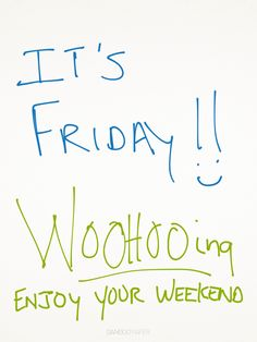 special Friday edition of #WOOHOOing...live your weekends to the fullest!  WOOHOOing.com |Pinned from PinTo for iPad|