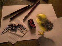 Artist Creates Amazing Hyperrealistic D Drawings D Drawings - Artist creates amazing hyper realistic 3d drawings
