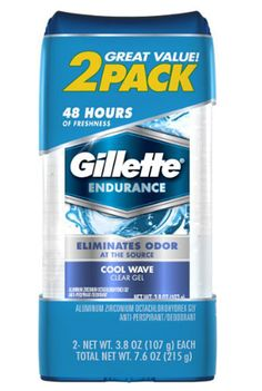Gillette Clear Gel Arctic Ice Antiperspirant and Deodorant, Twin Pack, oz Shampoo For Dry Scalp, Baby Shampoo, Shampoo Bar, At Home Hair Removal, Wax Hair Removal, Deodorant, Best Shaver For Men, Arctic Ice, Baking Soda Shampoo