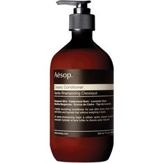Aesop Classic Conditioner ($49) ❤ liked on Polyvore featuring beauty products, haircare, hair conditioner, beauty, filler and aesop