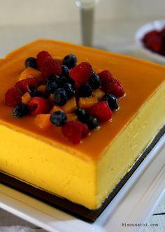 Mango Mousse Cake - Bisous À Toi