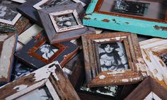 Luna Designs produces handmade picture frames from reclaimed timber
