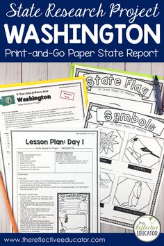 State Research Project | NAME Print-and-Go Paper State Report is a fun and easy state report project for upper elementary students. This easy-to-use resource includes links to safe reference websites and step-by-step lesson plans to get your students started with an online research project. Students research symbols, the flag, geography, and history. It is fun and easy! Buy State Research Project | NAME Print-and-Go Paper State Report and take the stress out of planning your lessons. Key Projects, Research Projects, 4th Grade Social Studies, Stressed Out, Upper Elementary, Geography, Missouri, Lesson Plans, Students