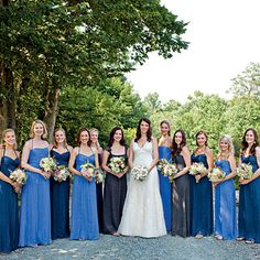 157 best Shades of Blue & Silver Wedding images on Pinterest ...