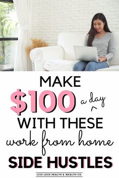 9 legitimate and simple ways to make money every day. Earn some extra cash through a side hustle, through making money apps and working from home online as a stay at home mom. Lots of ways to earn extra cash. Ways To Earn Money, Earn Money From Home, Earn Money Online, Make Money Blogging, Way To Make Money, Online Jobs, Win Money, Online Earning, Earn Extra Cash