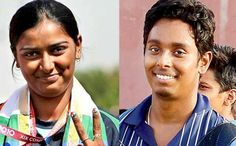 Deepika Kumari once again faltered under pressure to miss a target as India's medal hope in the women's team event received a big blow by finishing a lowly seventh in the archery....