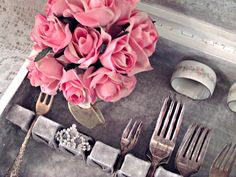 Penny's Vintage Home: Vintage Silverware Chest