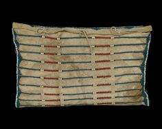 Possible Bag, Plains, circa 1840, 19th century classic period pony bead native american indian