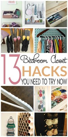 13 Bedroom Closet Hacks You Need To Try Now Simplistically Living