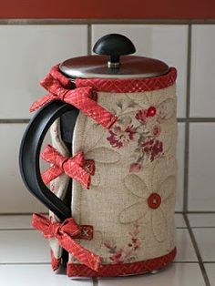 A cozy for your French press