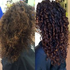 Curly Hair Tips, Curly Hair Styles, Natural Hair Styles, Cabelo Ombre Hair, Ombre Curly Hair, Highlights Curly Hair, Colored Curly Hair, Deva Curl, Big Hair