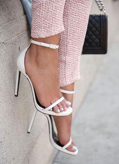 Ankle-Strap Heels - DivineCaroline.com