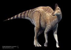 Vlad Konstantinov || Corythosaurus || http://swordlord3d.deviantart.com/ || 3D modelling #illustrations #character design #animation