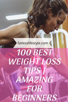 100 Best Weight Loss Tips Weight Loss Shakes, Weight Loss Diet Plan, Best Weight Loss, Weight Loss Journey, Weight Loss Tips, Lose Weight, Post Workout Food, Workout Videos, Weight Loss Transformation