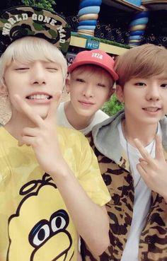 Monsta X | Minhyuk & Wonho & Kihyun
