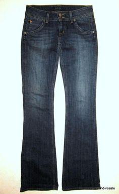 fcd0b03689b HUDSON Slim Boot JEANS Womens 26 x 34 TALL LONG Dark Wash Designer Denim  Bootcut. Hudson JeansJeans And BootsBell BottomsDesignerBell Bottom ...