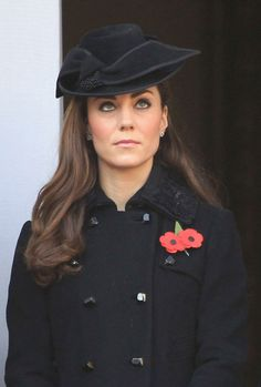 Kate Middleton Photos - Kate Middleton at the Remembrance Sunday Celebrations in London - Zimbio