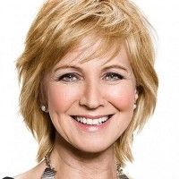 short layered hairstyle over 50