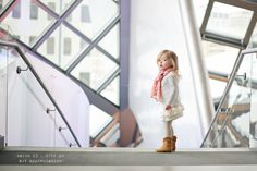 Love this photographer, her little girl, and the little girl's outfits