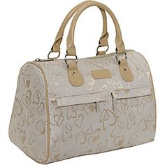 Sachi Insulated Lunch Bags Style 21 Ladies' Lunch Satchel - Cream Hearts Speed - via eBags.com! $24