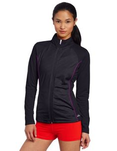 Spalding Women's Embossed Tricot Track Jacket - Listing price: $42.00 Now: $27.99 + Free Shipping