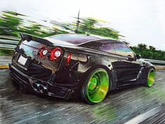Nissan GT-R tuning by Liberty Walk