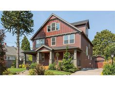 Home Plan HOMEPW73380 is a gorgeous 1925 sq ft, 2 story, 3 bedroom, 2 bathroom plan influenced by  Craftsman  style architecture.