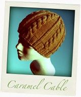 Caramel Cable Hat