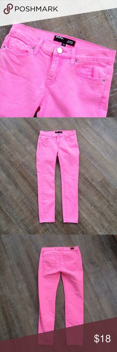 BDG (Urban Outfitters) Neon Grazer Midrise Jean Gently used condition! Urban Outfitters BDG Neon Grazer Midrise Jean. Inseam of 26 inches, size 27. Offers welcome! Urban Outfitters Jeans