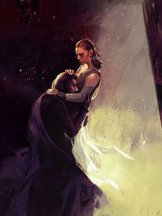 """If he doesn't end up in Rey's arms by the end of IX I will sue"" (Tom Shone) ""Full picture 