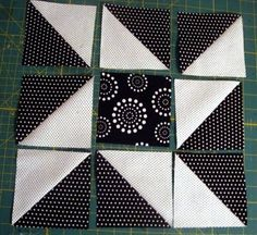 Crafty Gemini: Black & White Quilt Along