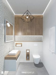 Ideas for bathroom lighting for your home - Ideen Zuhause - Bathroom Decor Guest Toilet, Downstairs Toilet, Small Toilet, Salon Interior Design, Bathroom Interior Design, Bad Inspiration, Bathroom Inspiration, Bathroom Toilets, Small Bathroom