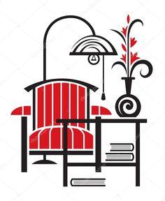depositphotos_10022296-stock-illustration-armchair-with-table-and-floor.jpg (837×1023)