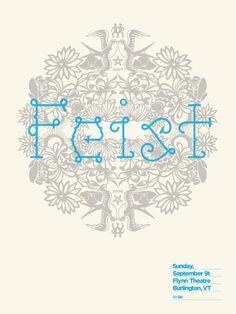 Feist #poster #design