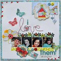 A Project by gumpgirl from our Scrapbooking Gallery originally submitted 05/10/12 at 08:09 AM