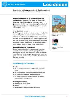 Leuke lesideeën bij De kleine piraat, gratis te downloaden!