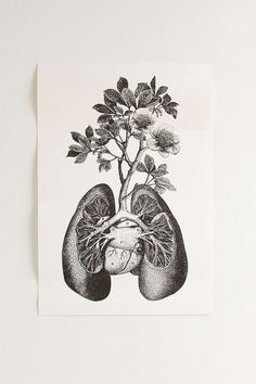 Cirque DArt Lungs Art Print - Urban Outfitters by AislingH