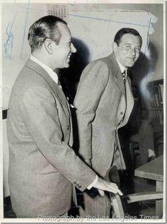 George Raft and Benjamin (Bugsy) Siegel