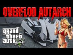 This is the Official Channel of JoeMVP Gta 5 Online presents the Overflod Autarch, an insane looking vehicle with good handling and amazing speed. Cars Youtube, Gta 5 Online, Grand Theft Auto